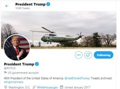 Account Twitter Potus